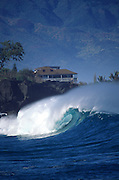 Wave, Waimea Bay, Oahu, Hawaii, USA<br />