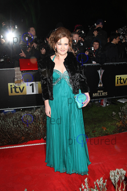 LONDON - DECEMBER 19: Jennie McAlpine attends the The Sun Military Awards 'The Millies' at the Imperial War Museum, London, UK on December 19, 2011. (Photo by Richard Goldschmidt)
