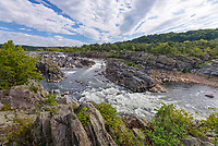 The Potomac River at Great Falls near Washington D.C., USA.