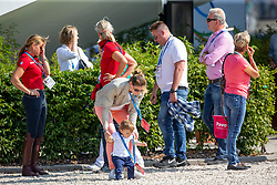 Langehanenberg Helen, GER, Damsey FRH<br /> Aachen - CHIO 2019<br /> Impressionen Abreiteplatz<br /> Preis der Familie Tesch<br /> Grand Prix CDIO5*<br /> 1. Wertungsprüfung für den Lambertz Nationenpreis<br /> 18. Juli 2019<br /> © www.sportfotos-lafrentz.de/Sharon Vandeput