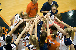 The Virginia Cavaliers Volleyball team defeated the Florida State Seminoles 3 games to 1 at Memorial Gymnasium in Charlottesville, VA on September 20, 2007.