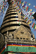 India, Buddhist prayer flags
