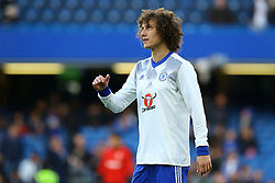 David Luiz of Chelsea during warm ups - Mandatory by-line: Jason Brown/JMP - 08/05/17 - FOOTBALL - Stamford Bridge - London, England - Chelsea v Middlesbrough - Premier League