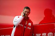 Circuito de Jerez, Spain : Formula One Pre-season Testing 2014. Ferrari engineer James Allison.