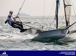 Ready Steady Tokyo Sailing 2019. Olympic Sailing Test Event ©JESUS RENEDO/SAILING ENERGY/WORLD SAILING<br /> 20 August, 2019.
