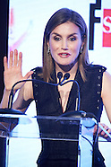 041916 Queen Letizia Attends Children and Youth Literary Awards Ceremony