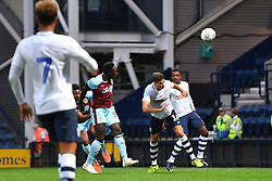 Burnley's Dan Agyei scores his side's second goal of the game during a pre season friendly match at Deepdale, Preston.