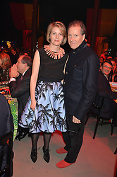 VISCOUNT & VISCOUNTESS LINLEY at A Night of Reggae in aid of Save The Children held at The Roundhouse, Chalk Farm Road, London NW1 on 12th March 2014.