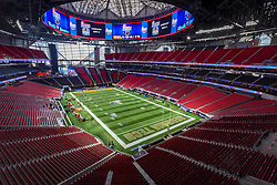 Scenes from the Chick-fil-A Kickoff NCAA football game on Monday, September 4, 2017, in Atlanta. (Karl L. Moore via Abell Images for Chick-fil-A Kickoff Game)
