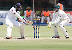 Harare- Zimbabwe vs Sri Lanka 4th day - 1 Nov 2016