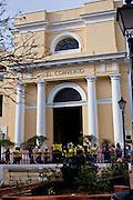 El Convento Hotel and former convent in Plazuela de las Monjas in Old San Juan, Puerto Rico