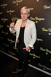 MR HUDSON at a party to launch the Dom Perignon Luminous label held at No.1 Mayfair, London on 24th May 2011.