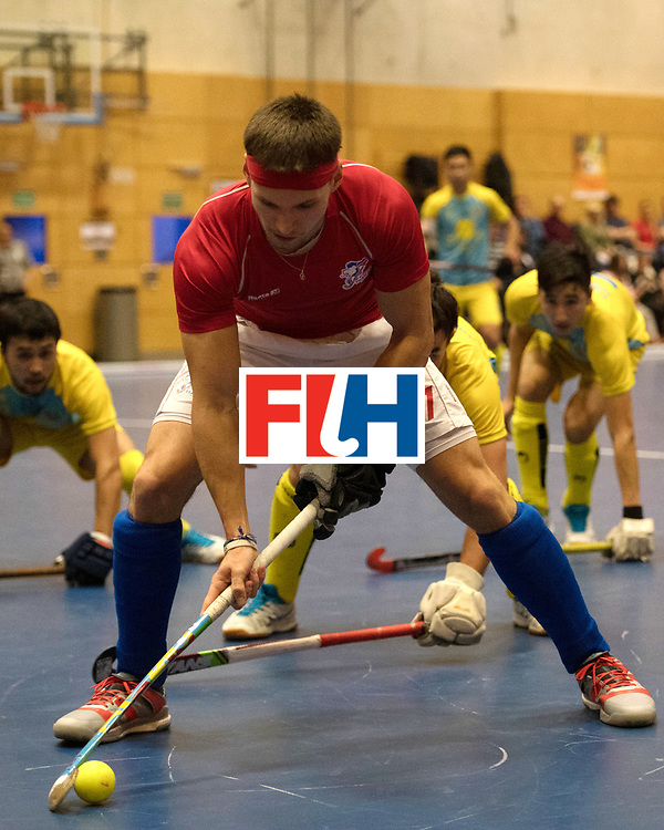 BERLIN - Indoor Hockey World Cup<br /> Kazachstan - Czech Republic<br /> foto: PLOCH&Yacute; Lukas<br /> WORLDSPORTPICS COPYRIGHT FRANK UIJLENBROEK