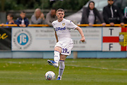 Leeds United Jack Jenkins (19)  during the Pre-Season Friendly match between Tadcaster Albion and Leeds United at i2i Stadium, Tadcaster, United Kingdom on 17 July 2019.