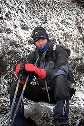 22-10-2008 REPORTAGE: KILIMANJARO CHALLENGE 2008: TANZANIA <br /> De dag van de Uhuru Peak, de top van de Kilimanjaro. De Kilimanjaro Challenge van de BvdGf.<br /> ©2008-FotoHoogendoorn.nl