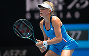 Dayana Yastremska of the Ukraine in action during her second round match at the 2020 Australian Open, WTA Grand Slam tennis tournament on January 22, 2020 at Melbourne Park in Melbourne, Australia - Photo Rob Prange / Spain ProSportsImages / DPPI / ProSportsImages / DPPI