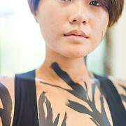 Zhuang Yan-Ting - Body Painter 莊雁婷-為身體書寫工作坊