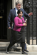 © Licensed to London News Pictures. 26/06/2012. Westminster, UK   LORD STRATHCLYDE and Minister without Portfolio (Minister of State) The Baroness Warsi on Downing Street today 26th June 2012. Photo credit : Stephen Simpson/LNP