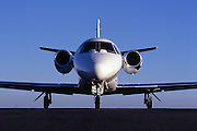 Citation, aircraft, cessna, tarmac, jet aircraft, jet plane, head-on