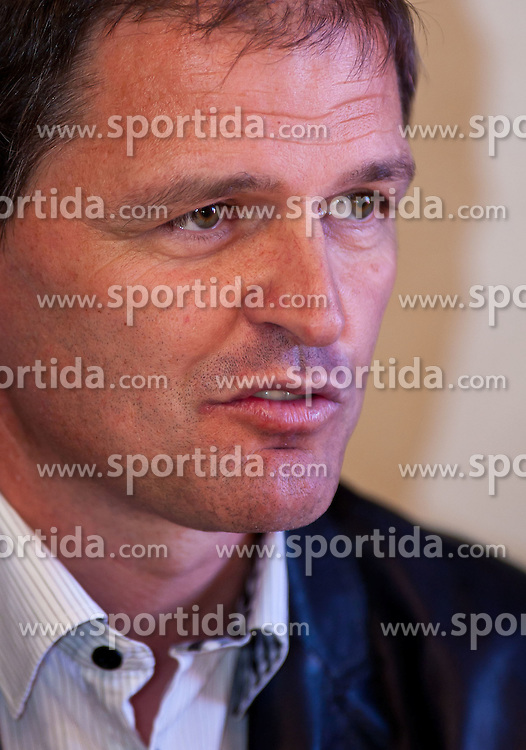 04.10.2010, Biathlon Zentrum, Hochfilzen, AUT, OESV Biathlon Medientag, im Bild Markus Gandler, OESV, Sportlicher Leiter, Portrait, EXPA Pictures © 2010, PhotoCredit: EXPA/ J. Feichter