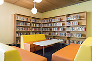 The newly renovated Library and Learning Center at Milpitas High School in Milpitas, California, on February 2, 2015. (Stan Olszewski/SOSKIphoto)