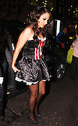 24.OCTOBER.2012. LONDON<br /> <br /> TULISA LEAVING MAHIKI NIGHT CLUB IN MAYFAIR AFTER AN X-FACTOR HALLOWEEN PARTY.<br /> <br /> BYLINE: EDBIMAGEARCHIVE.CO.UK<br /> <br /> *THIS IMAGE IS STRICTLY FOR UK NEWSPAPERS AND MAGAZINES ONLY*<br /> *FOR WORLD WIDE SALES AND WEB USE PLEASE CONTACT EDBIMAGEARCHIVE - 0208 954 5968*