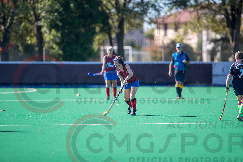 GOLDEN OLDIES FESTIVAL OF SPORT<br /> HOCKEY,<br /> HOCKEY<br /> 20180416<br /> CHRISTCHURCHNEW ZEALAND<br /> Photo SARA COX CMG SPORT ACTION IMAGES<br /> &copy;cmgsport2018