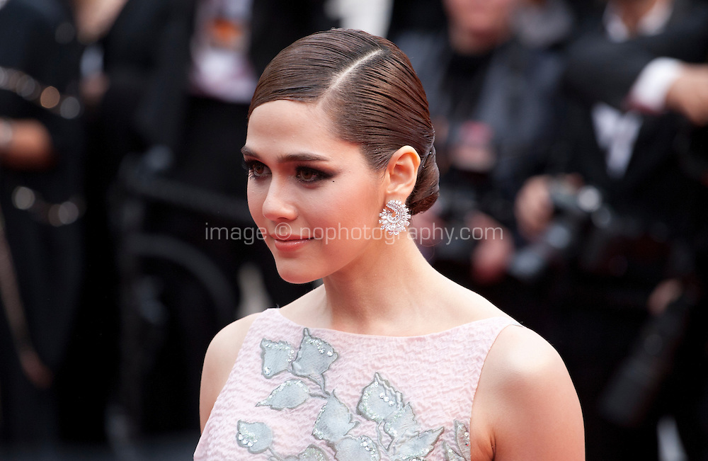 Actress  Araya Hargate at the gala screening for the film The BFG at the 69th Cannes Film Festival, Saturday 14th May 2016, Cannes, France. Photography: Doreen Kennedy