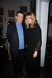 The 10th EARL OF ST.GERMANS and the COUNTESS OF ST.GERMANS (3rd wife Catherine) at a party to celebrate the publication of Kitchenella by Rose Prince held at Blacks, 67 Dean Street, London W1 on 16th September 2010.
