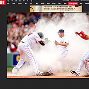 Cover Photograph: Sports Illustrated Top Photos Gallery - 2016.