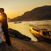 Alex and Luke's destination wedding in Luang Prabang, Laos.