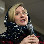 Stella Judith Creasy MP is a British Labour Co-operative politician join the Waltham Forest Stand up to Racism against hate and the outrageous 'Punish a Muslim Day' letter recently sent to homes across the country is yet another example of anti-Muslim hate crime which has doubled over the last year on the 3rd March 2018 at Lea Bridge Road Mosque, London, UK.