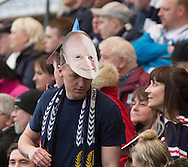 Mixu mask - Dundee v Dundee United, Ladbrokes Scottish Premiership at Dens Park<br /> <br /> <br />  - &copy; David Young - www.davidyoungphoto.co.uk - email: davidyoungphoto@gmail.com
