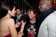 Yasmine Mills; Julian Macdonald; Andrew Kumah, Rodial Beautiful Awards. Sanderson Hotel. 1 February 2011. -DO NOT ARCHIVE-© Copyright Photograph by Dafydd Jones. 248 Clapham Rd. London SW9 0PZ. Tel 0207 820 0771. www.dafjones.com.