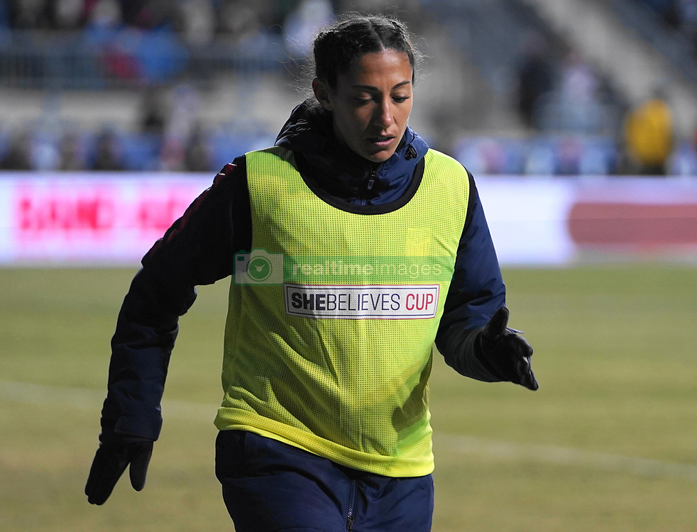 February 28, 2019 - Chester, United States - Ashlyn Harris  of The United States.during the She Believes Cup football match between The United States and Japan at Talen Energy Stadium on February 27, 2019 in Chester, Pennsylvania, United States. (Credit Image: © Action Foto Sport/NurPhoto via ZUMA Press)