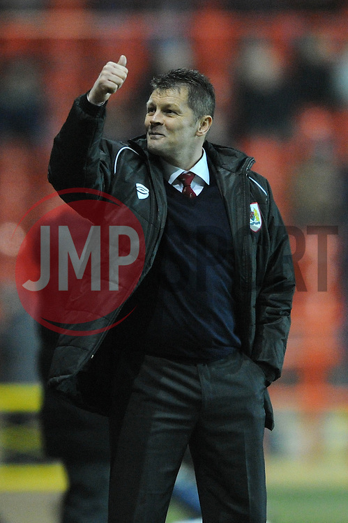 Bristol City manager, Steve Cotterill - Photo mandatory by-line: Dougie Allward/JMP - Mobile: 07966 386802 - 10/02/2015 - SPORT - Football - Bristol - Ashton Gate - Bristol City v Port Vale - Sky Bet League One
