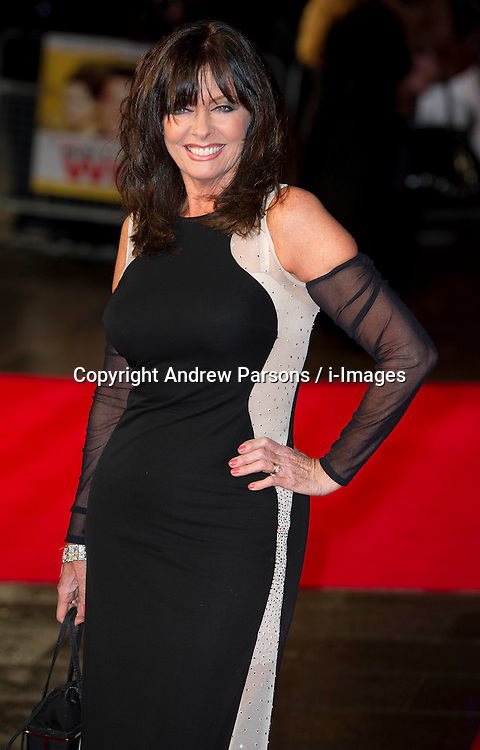 Allo 'Allo star Vicki Michelle  arrives for the Run For Your Wife - UK film premiere Odeon -Leicester Sq- London Brit comedy about a happily married man - with two wives, Tuesday  February 5, 2013. Photo: Andrew Parsons / i-Images