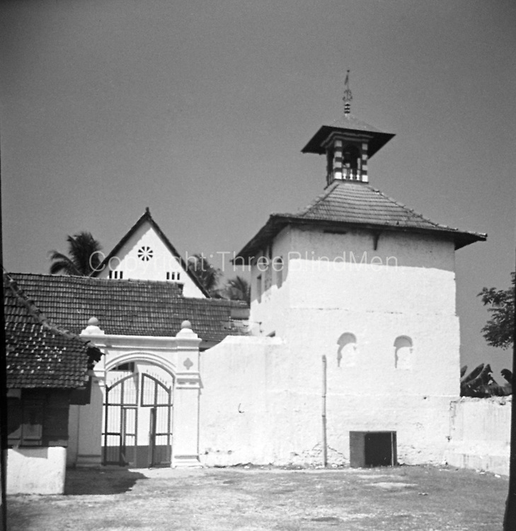 The Paradesi Synagogue, is located in Kochi, Kerala, in South India. Constructed in 1567, it is one of seven synagogues of the Malabar Yehudan people or Cochin Jewish community in the Kingdom of Cochin. It is also referred to as the Cochin Jewish Synagogue or the Mattancherry Synagogue.
