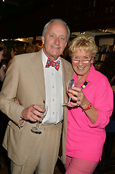 NEIL & CHRISTINE HAMILTON at a party to celebrate the publication of Stanley I Resume by Stanley Johnson at the Daunt Bookshop, Marylebone High Street, London on 23rd September 2014.