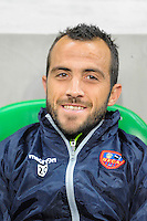 Louis Poggi - 17.10.2015 - Saint Etienne / Gazelec Ajaccio - 10eme journee de Ligue1<br /> Photo : Jean Paul Thomas / Icon Sport