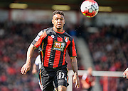 Bournemouth Midfielder Joshua King (17) during the Barclays Premier League match between Bournemouth and Chelsea at the Goldsands Stadium, Bournemouth, England on 23 April 2016. Photo by Adam Rivers.