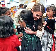 Queen Rania Visits Canada