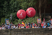 MEMBERS OF THE UNITE UNION, The Durham Miners Gala, Durham. 13 July 2019