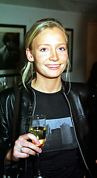 Social figure MISS MARTHA WARD, at a party in London on 23rd November 1999.MZG 23