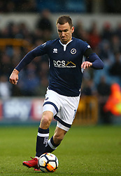 January 27, 2018 - London, United Kingdom - Jed Wallace of Millwall.during FA Cup 4th Round match between Millwall against Rochdale  at The Den, London on 27 Jan 2018  (Credit Image: © Kieran Galvin/NurPhoto via ZUMA Press)