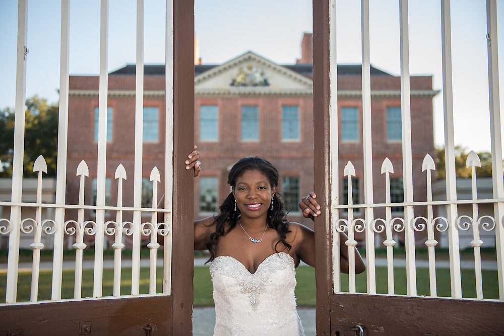 Jonai Bridal Portrait | Tryon Palace Photographers