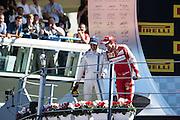 September 3-5, 2015 - Italian Grand Prix at Monza: Felipe Massa (BRA), Williams Martini Racing , Sebastian Vettel (GER), Ferrari