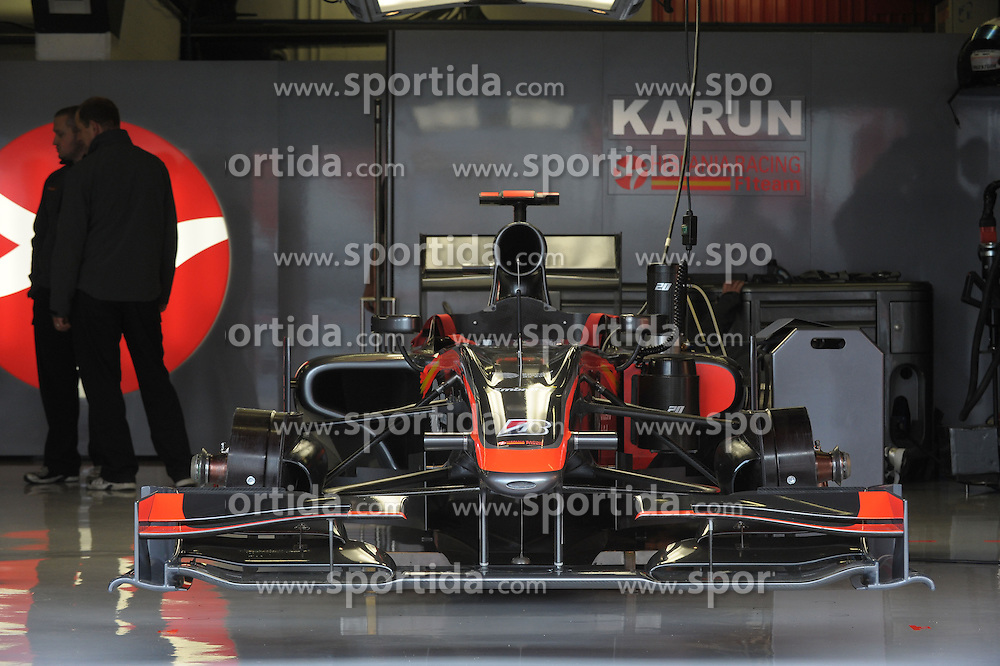 07.05.2010, Circuit de Catalunya, Barcelona, ESP, Formula One Championship, GP of Spain, im Bild .Hispania Racing F1.EXPA Pictures © 2010, PhotoCredit: EXPA/ InsideFoto/ Hasan Bratic / SPORTIDA PHOTO AGENCY
