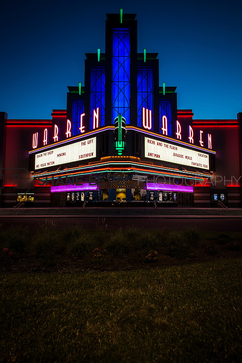 8/10/15 8:37:57 PM --  Exterior photos of the Warren Theatre in Broken Arrow, Oklahoma. <br /> <br /> Photo by Shane Bevel