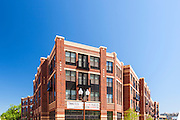 Arlington Virginia Apartment building exterior of 1919 Clarendon by Jeffrey Sauers of Commercial Photographics, Architectural Photo Artistry in Washington DC, Virginia to Florida and PA to New England